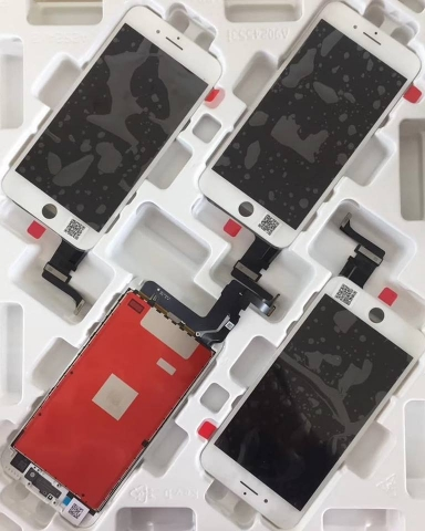 iphone 6 plus Battery Back Cover Housing Rear Frame With Spare Parts 43 Heshunyi