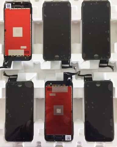 iphone 6 plus Battery Back Cover Housing Rear Frame With Spare Parts 44 Heshunyi